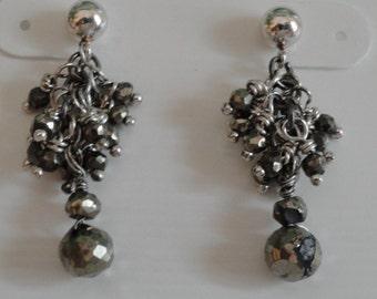 Pyrite Earrings  -  #390