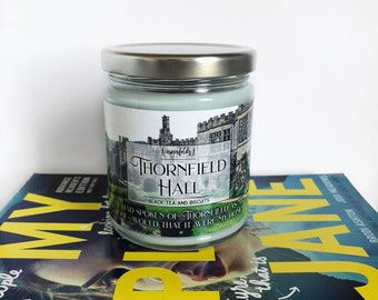 Thornfield Hall | Jane Eyre Inspired 4oz. or 8oz. Scented Soy Candle