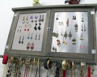 Post Earring holder, dangle earring holder, necklace holder, bangle holder, you choose your own colors