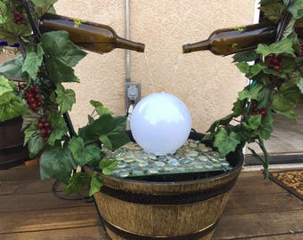 Double Wine Bottle Fountain***Step by Step Instructions***