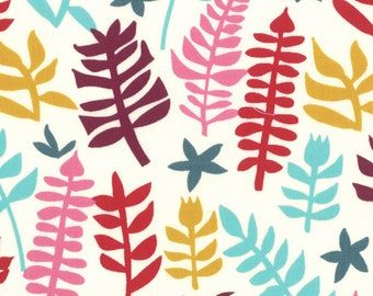 Liz Scott Fabric, Domestic Bliss by Liz Scott for Moda Fabrics, 18074-16 Out of Doors Cream