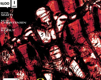 Complete Set: THE CHAIR (Alterna Comics, 2017) Psychological Horror Thriller newsprint comic books; 4 issue bundle; Simeti Christensen Kohut