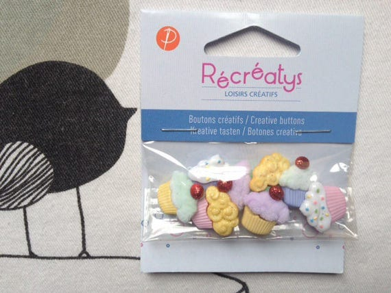 BUTTONS decorative small sweets - Recreatys