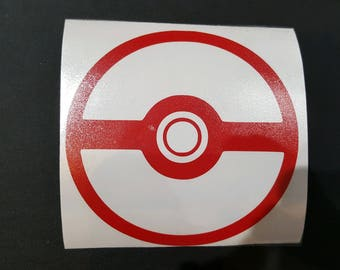 Pokeball Vinyl Decal