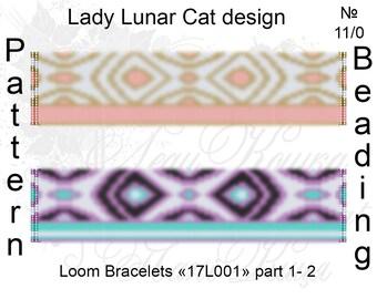 Loom patterns, Miyuki beadwork, Miyuki patterns, Boho miyuki, Geometric pattern, Beadwork, Delica patterns, Seed beads patterns, Beadwoven