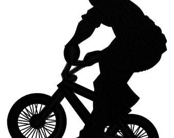 BMX Bike Embroidery File