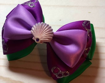 Ariel themed bow