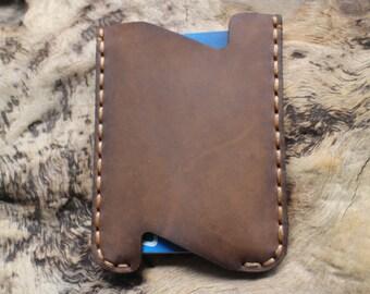 wallet,handmade,leather wallet,crazy horse leather,mens credit card wallet, leather credit card, postcard sets....
