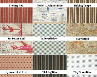 Tim Holtz Fabric by the Yard FREE SHIPPING