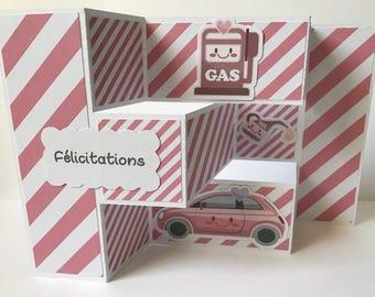 card congratulations drivers license