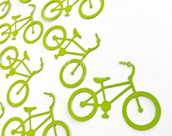 Bicycle Die Cuts, Bicycle Confetti, 20 Ct.