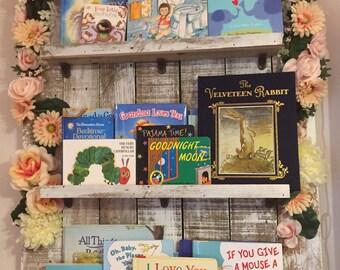 Handmade bookshelf-real wood