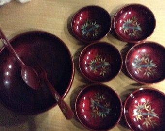 Genuine lacquerware from Japan 1960s