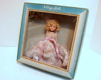 Virga Cinderella Doll in Box, Beehler Arts Vintage Storybook Doll