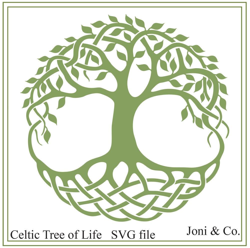 Celtic svg Celtic Tree of Life svg download Cletic Irish