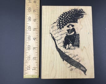 A Lost Art by Penny Black Rubber stamp