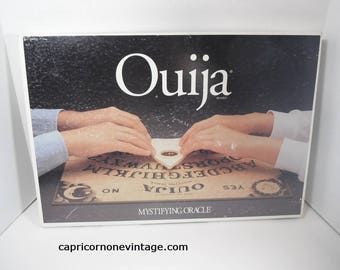 Vintage Ouija Board Mystifying Oracle Game 1990s Ouija Board 1992 Parker Brothers William Fuld Board Made In USA Wall Decor Movie Prop