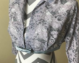 1940s-1950s lace jacket