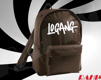 Logan Paul logan logo limited youtuber brown Backpack