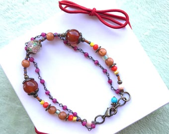 Bracelet in Spring Colors