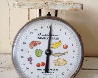 SALE*Shabby Chic- White- Chippy- American Family Scale  - Farmhouse Decor