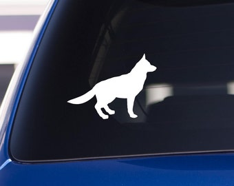 German Shepherd Decal / Dog Decal / Window Decals / Laptop Decals / Car Decals / Sticker / Vinyl Decal