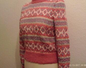 Ladies Fair Isle Sweater