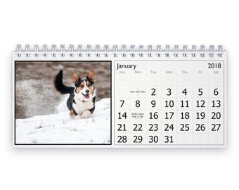 Corgi 2018 Desk Calendar