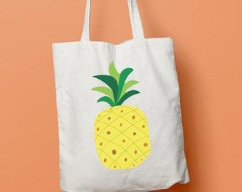 Feeling Fruity Pineapple tote bag