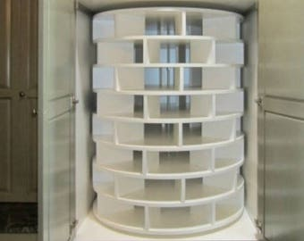 Shoe Storage   Shoe Organization   Lazy Susan   Fit Any Size Space from Floor to Ceiling   Free Ship!