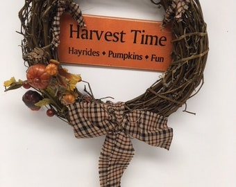 Harvest Time Wreath