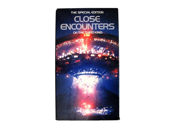 Close Encounters of the Third Kind VHS