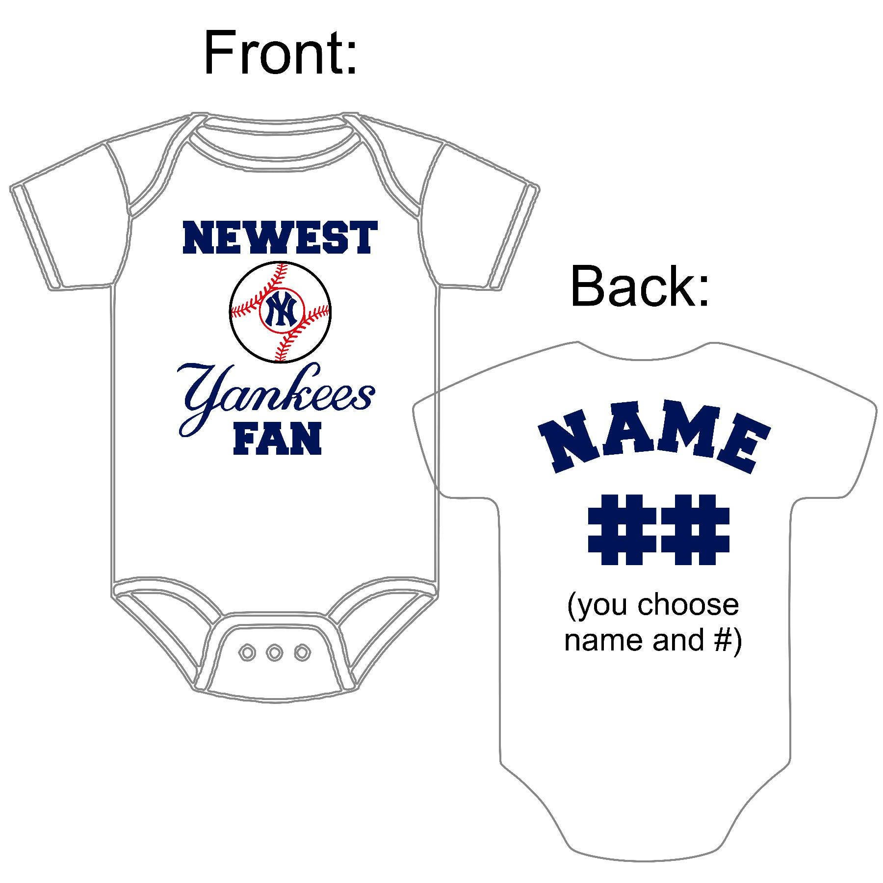 Newest New York Yankees Fan Custom Made and Personalized