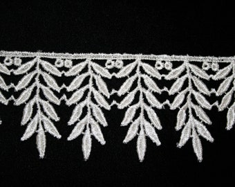 Leaf Design Venise Lace