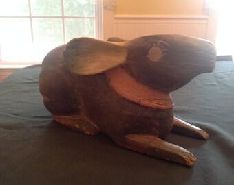 Vintage Carved Rabbit