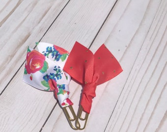 Traveler's Notebook Planner clip set