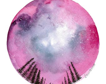 Pink Pines Galaxy