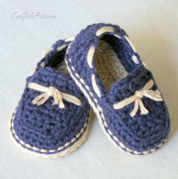 Crochet Pattern 120 Baby Lil Loafers Pattern Pack