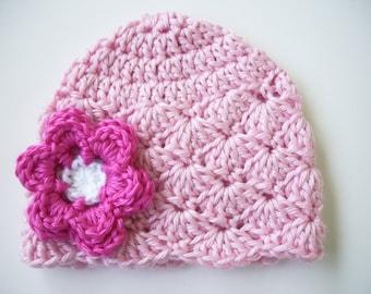 Girl Toddler Hat, Crochet Baby Hat, Baby Shower Gift, Newborn Photo Prop, Newborn Girl Hat, Baby Girl Hat, Baby Girl Gift, Newborn Beanie