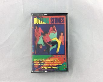 Cassette Tape - The Rolling Stones - Dirty Work