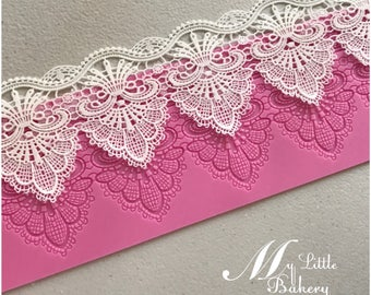 Lace Silicone Mat for cake and cookie decorating