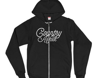 Country As Folk Hoodie sweater