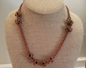 Copper Maille Necklace