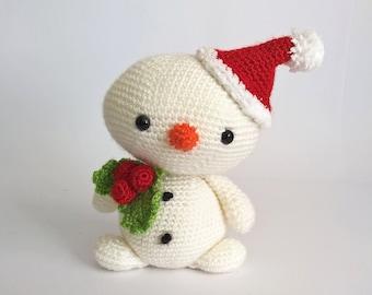 christmas crochet snowman amigurumi snowmen christmas gift christmas decoration custom crochet toy stuffed animals children toys - Christmas Stuffed Animals