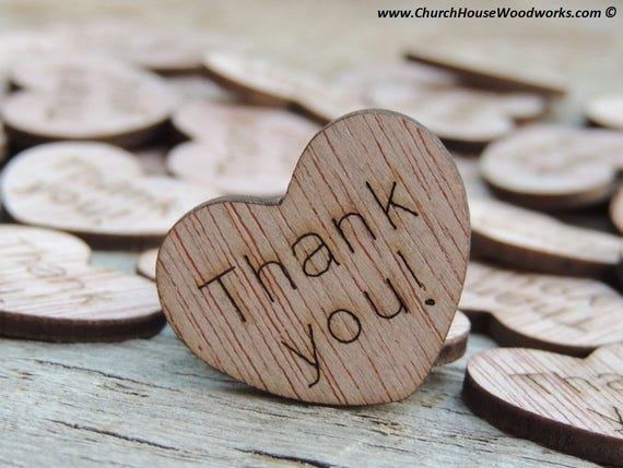 thank you with hearts