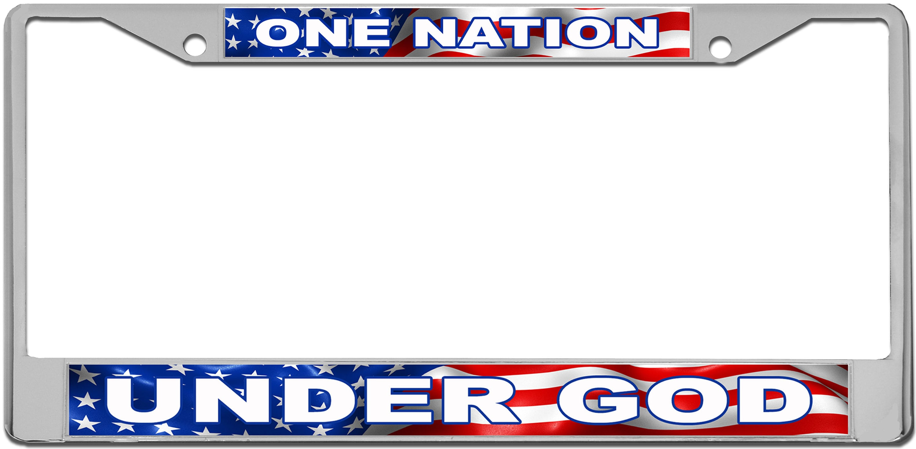 USA Patriotic License Plate Frame