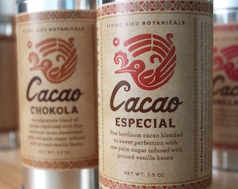 0400 Cacao Especial 7.5oz... 100% organic and fair trade drinking chocolate
