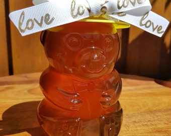 Honey Gift Bear Jar - 100% Pure Raw Australian Honey