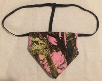 New Men's Pink TRUE TIMBER CAMO Camoflauge Hunting Gstring Thong Male Lingerie Underwear