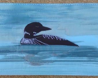 Postcard - Loon on the Lake